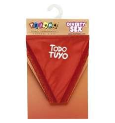 TANGA ROJO CHICA TODO TUYO sexshop online