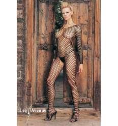 LEG AVENUE MALLA DE RED TIPO CROCHET sexshop online