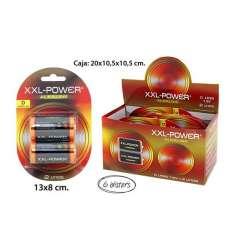 PILAS ALK R20, XXL-POWER, 2UDS.