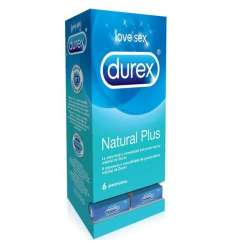 DISPENSADOR DUREX NATURAL PLUS 27 CAJAS 6 UDS sexshop online