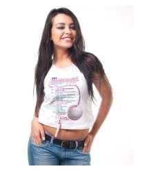 CAMISETA TOP PRUEBAS CON BOLIGRAFO ELLA sexshop online