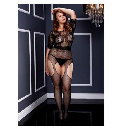 CROTCHLESS SUSPENDER BODY PLUS