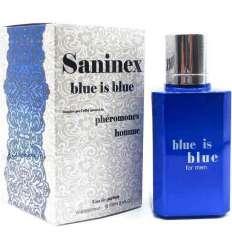 SANINEX PERFUME PHÉROMONES BLUE IS BLUE MEN sexshop online
