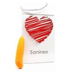 SANINEX MINI VIBRADOR MULTI EXCITING WOMAN COLOR NARANJA sexshop online