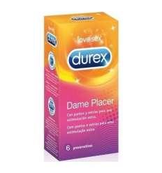 DISPENSADOR DUREX DAME PLACER 6 UDS sexshop online