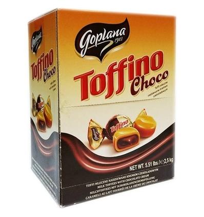 TOFFINO CHOCO, 380UDS EN CAJA DE 2,5KG GOPLANA