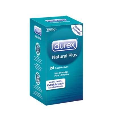 DUREX NATURAL PLUS 24 UDS