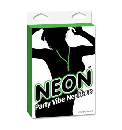 NEON PARTY VIBE COLLAR CON BALA VERDE