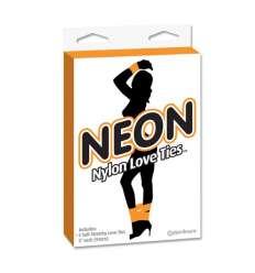 NEON CINTAS DE BONDAGE NARANJA sexshop online