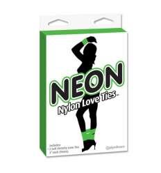 NEON CINTAS DE BONDAGE VERDE sexshop online