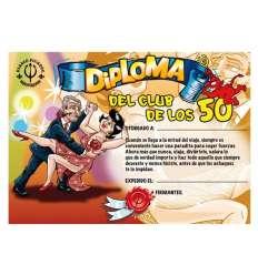 DIPLOMA 50 AÑOS sexshop online