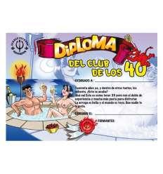 DIPLOMA 40 AÑOS sexshop online