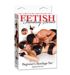 FETISH FANTASY KIT DE ATADURAS PARA PRINCIPIANTES NEGRO sexshop online