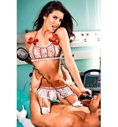 BACI DISFRAZ DE ENFERMERA DE URGENCIAS DE ENCAJE sexshop online