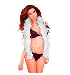 OUCH BOA ROSA SEDUCTIVE BLANCO sexshop online