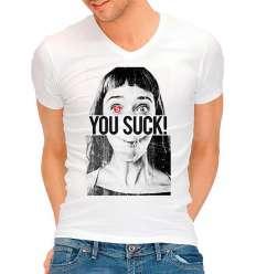 CAMISETA DIVERTIDA YOU SUCK sexshop online