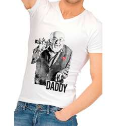CAMISETA DIVERTIDA WHO IS YOUR DADDY sexshop online