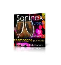 SANINEX PUNTEADO AROMATICO CHAMPAGNE 1 UD sexshop online