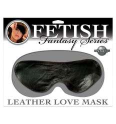 FETISH FANTASY MASCARA DE PIEL NEGRA sexshop online