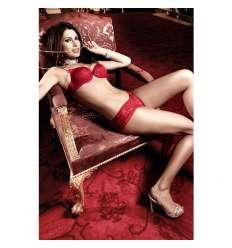 BACI CULOTTE DE ENCAJE ROJO sexshop online