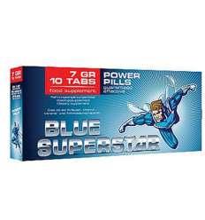 BLUE SUPERSTAR 10 CAPSULAS sexshop online