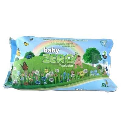 TOALLITAS INFANTILES BABY ZERO 80 UDS