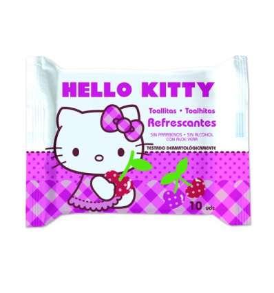 TOALLITAS FRESH 10UD HELLO KITTY