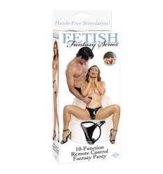 FETISH FANTASY TANGA VIBRADOR CON CONTROL REMOTO 10 FUNCIONES sexshop online