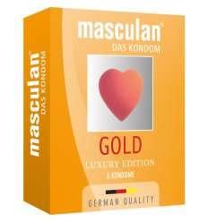 MASCULAN PRESERVATIVOS LUXURY EDITION 3 UDS