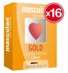 MASCULAN PRESERVATIVOS LUXURY EDITION 3 UDS (16 CAJAS)