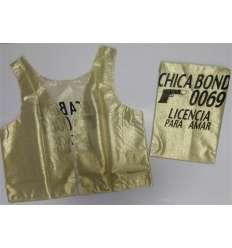 CHALECO CHICA BOND 007 sexshop online